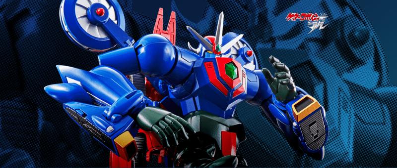 模玩资讯:万代超合金魂GX-96盖塔机器人号_合体