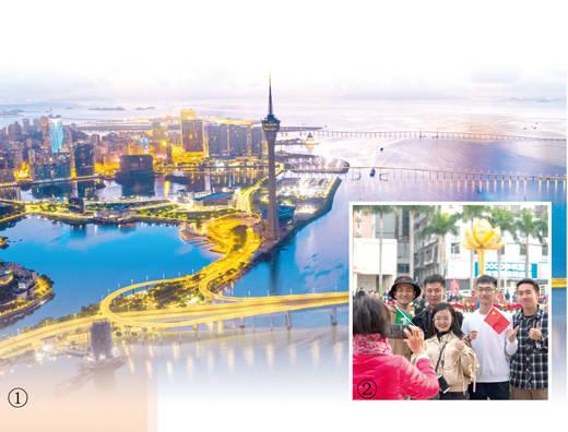 中华民族统一大业过程中又一历史时间永远的丰碑97香港回归