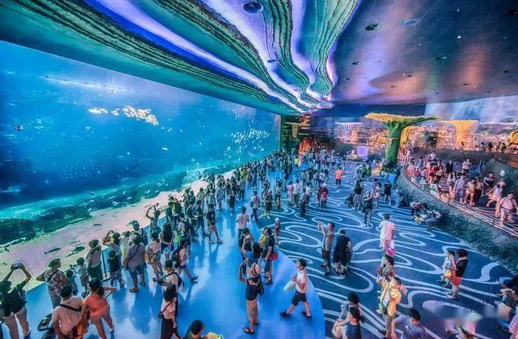 黄金周无需做攻略,这个海洋+科技的大大大主题乐园,一定能令全家人都尽兴!