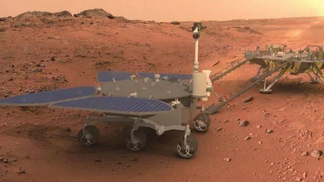 """中国首辆火星车命名""""祝融号"""",有何寓意?"""