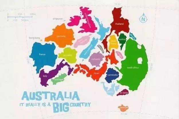 【地理视野】地理老师没有给你讲过这些罕见地图,因为可能会颠覆你的世界观  第14张