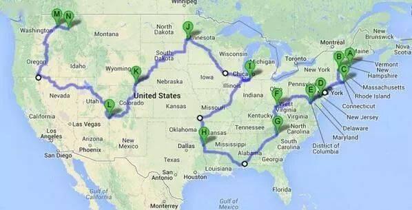 【地理视野】地理老师没有给你讲过这些罕见地图,因为可能会颠覆你的世界观  第45张