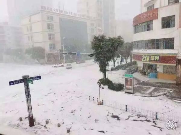 """昨日冰雹""""砸翻""""文山人朋友圈,今天雨水漫全省!"""