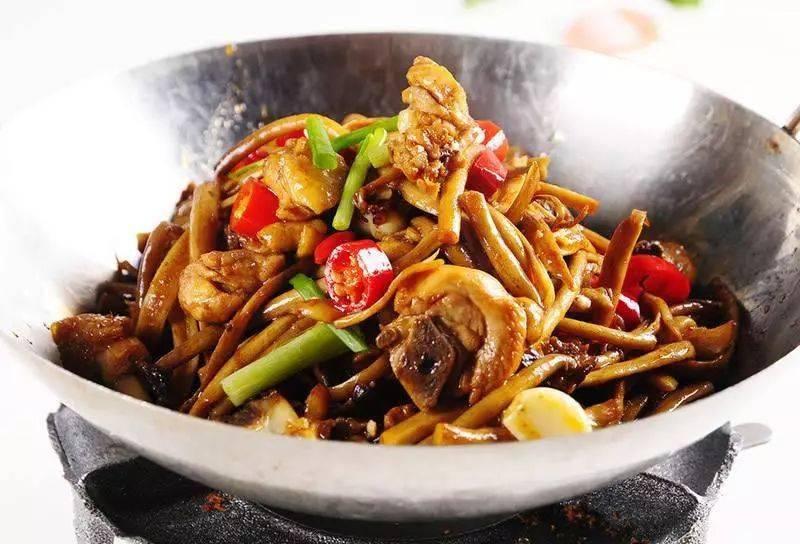 炒茶树菇的家常做法,易做又好吃