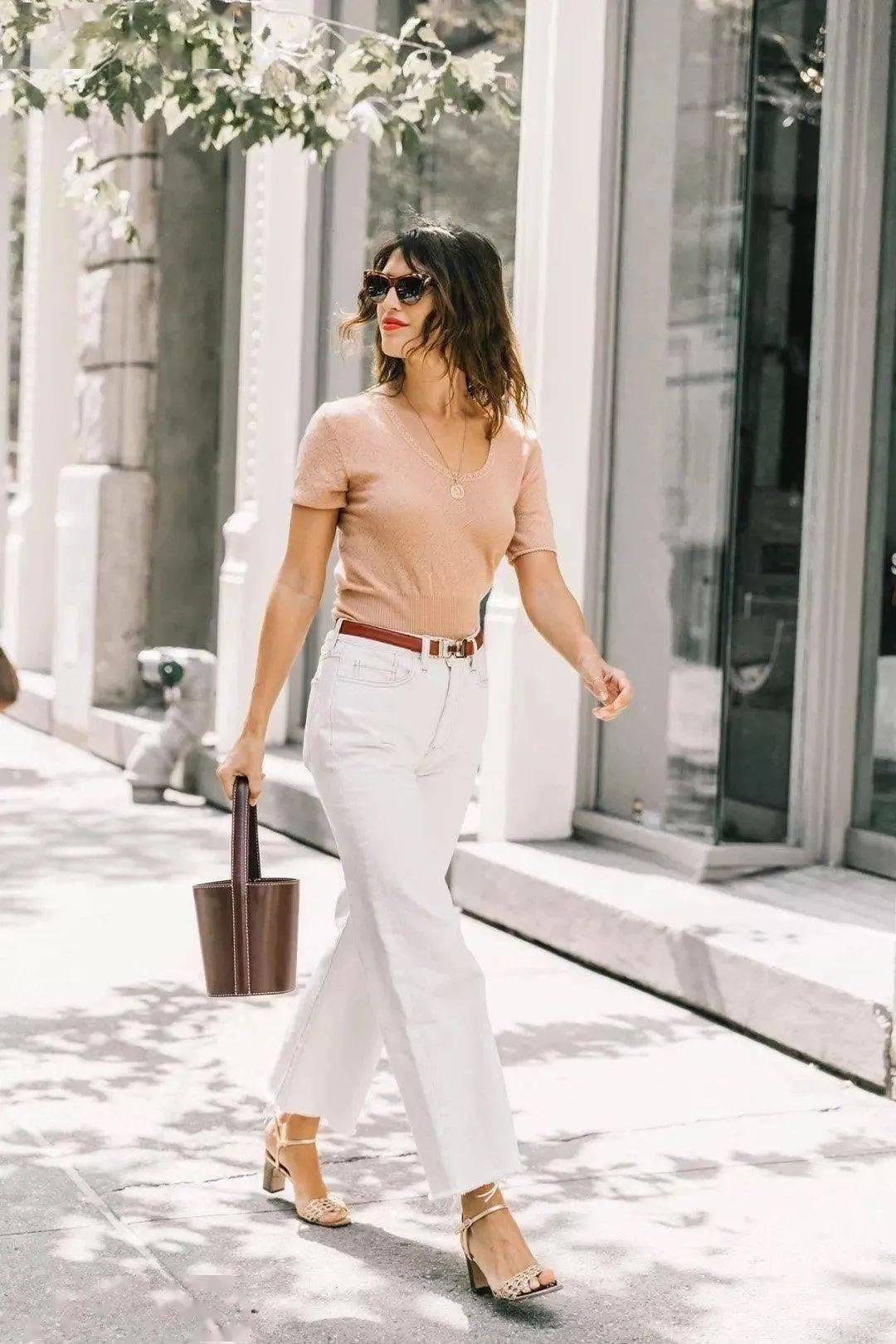 九分裤,夏天怎么穿好看?