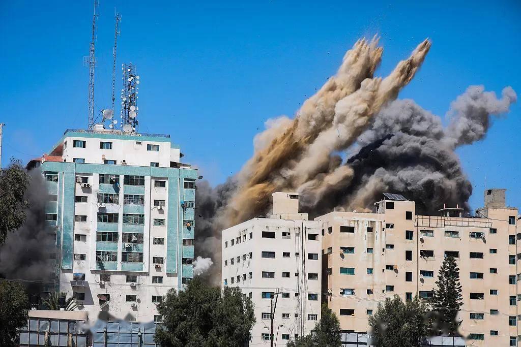 一声巨响,以色列炸平美联社办公室!多方怒批,美国还在装睡