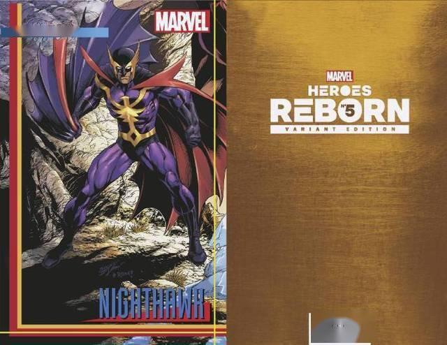 漫威漫画的大型联动故事「英雄重生」已经正式开启