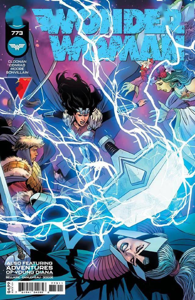 DC漫画「神奇女侠」第773期近期封面公开插图
