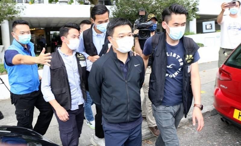 壹传媒行政总裁等5人被香港警方拘捕!涉嫌违反香港国安法