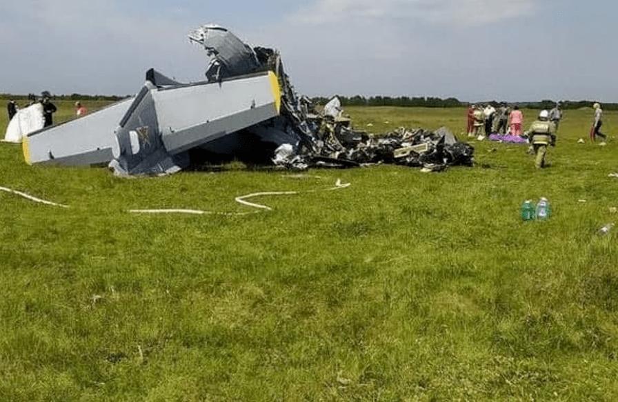 突發!俄羅斯一飛機墜毀致9人死亡