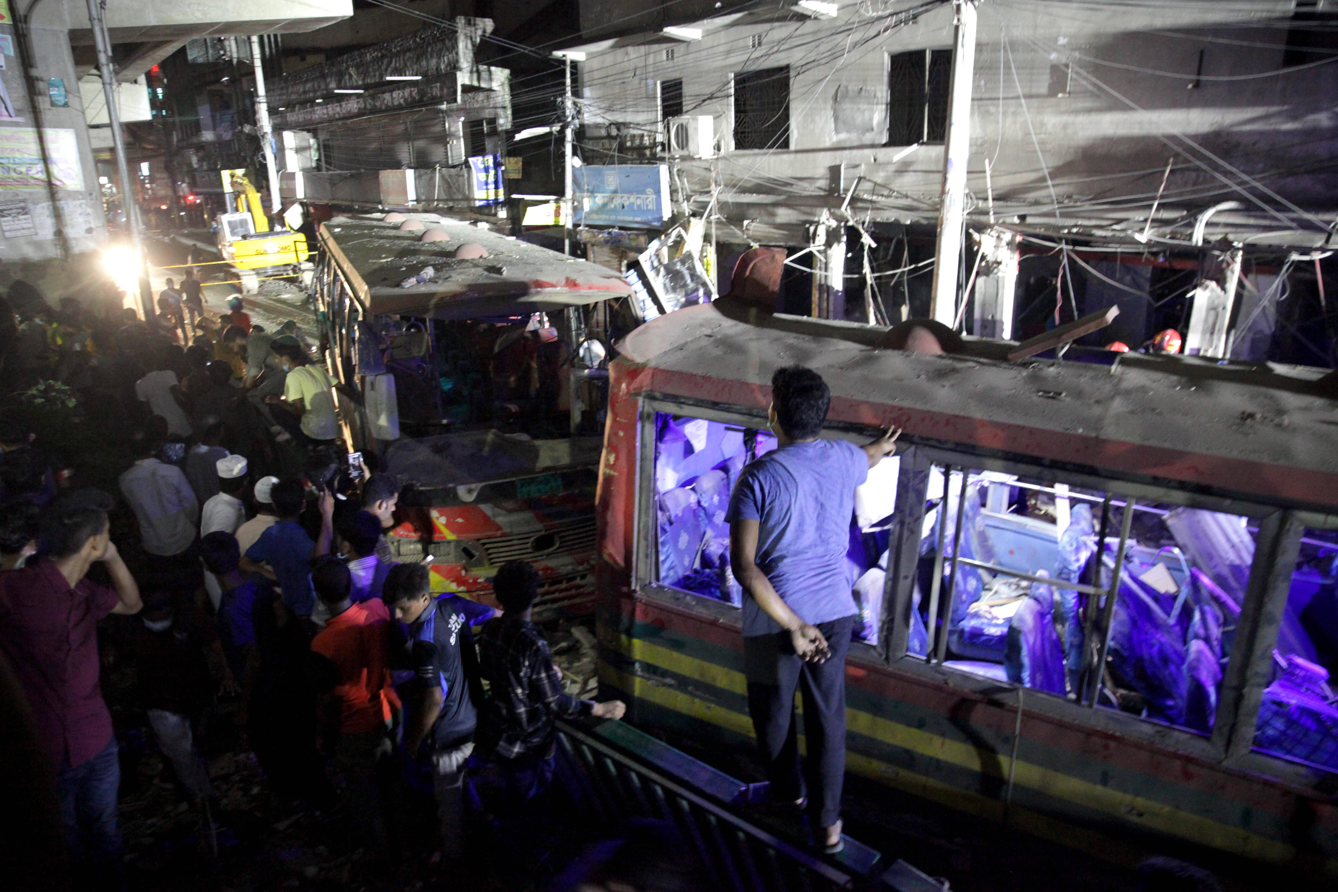 孟加拉国首都一建筑发生爆炸至少7人死亡