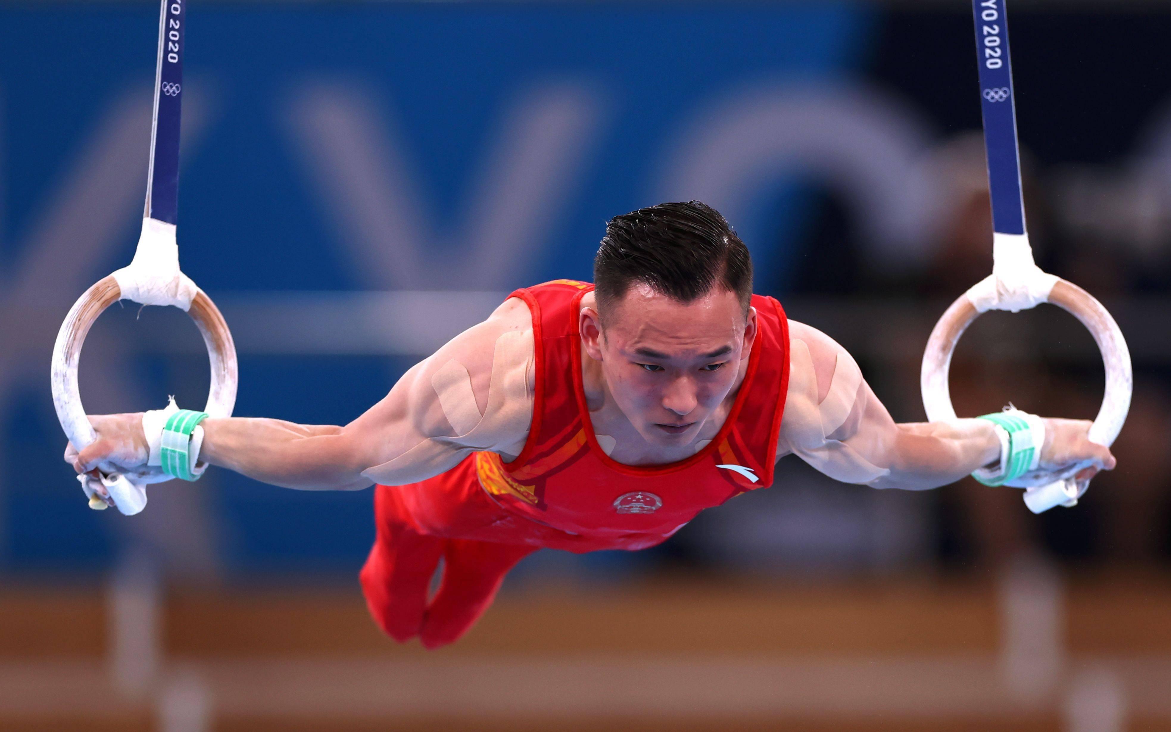 中国体操男团摘铜牌,孙炜肖若腾战6项0失误