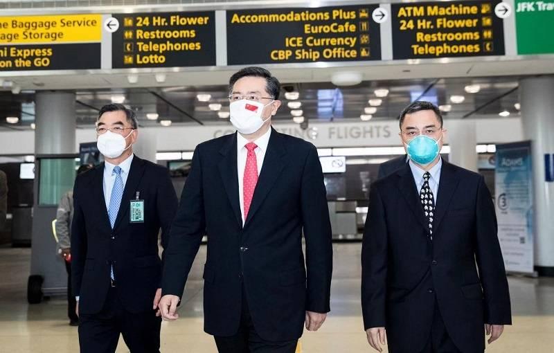 新任中国驻美大使秦刚:相处需要相知 相知需要沟通了解
