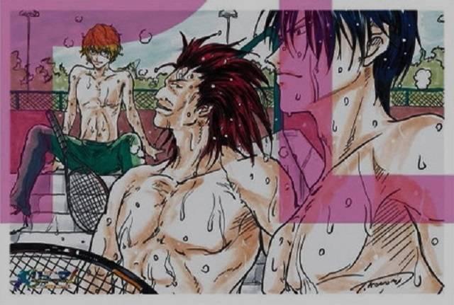 许斐刚「龙马!新生剧场版网球王子」特典插画卡公开插图(8)