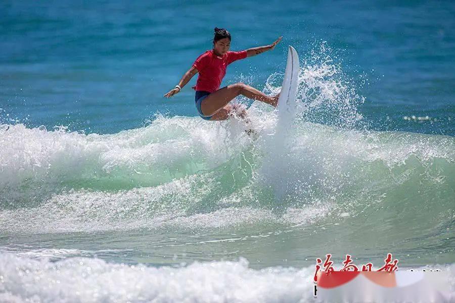 全运会冲浪比赛运动员平均年龄16岁 专家:年龄小更易做出浪上动作