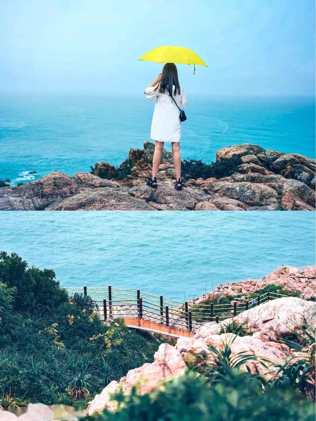 原来惠州也有蓝蓝的大海:可以看到真正大海的颜色!