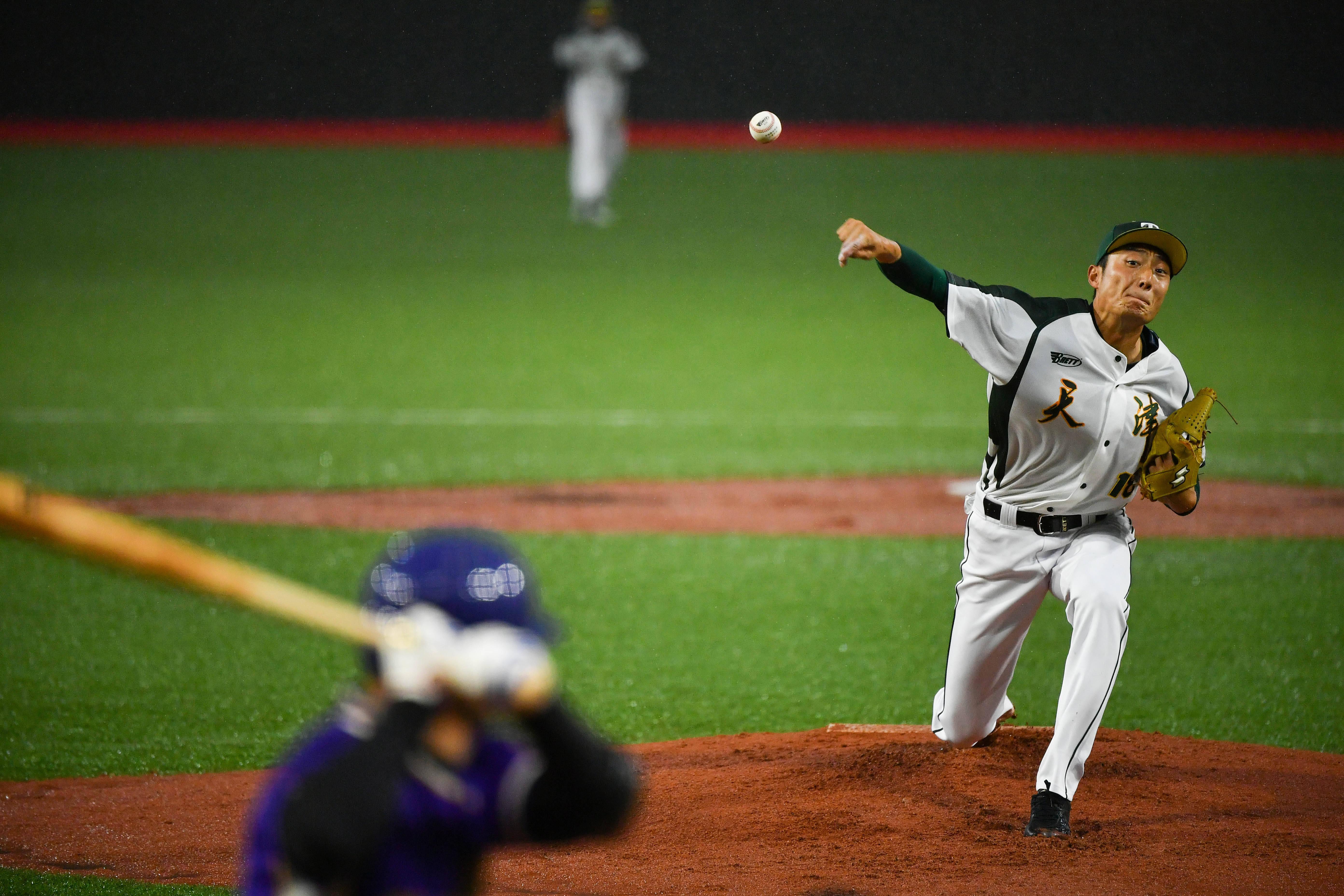 棒球——男子小组赛:天津胜四川