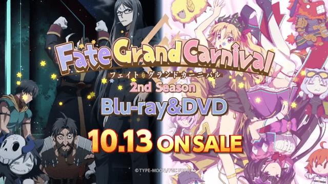 《Fate/Grand Carnival》列电视动画续集「2nd Season」宣传PV公布