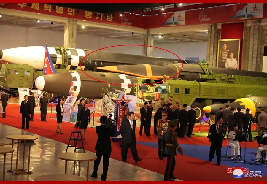 恒宏首页朝鲜举行国防发展展览会,高超音速导弹首次近距离公开