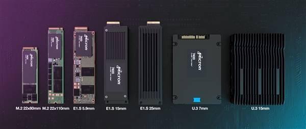 美光发布企业级7400 PCIe 4.0 SSD:7种形态、唯一断电保护M.2